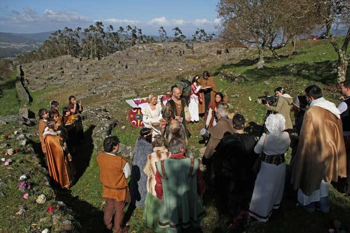 boda-en-la-guardia-celta. Boda Celta