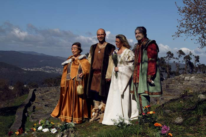 familia-celta. Boda Celta