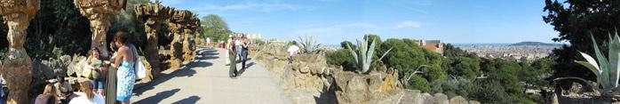 paseando-por-el-Parque-Guell