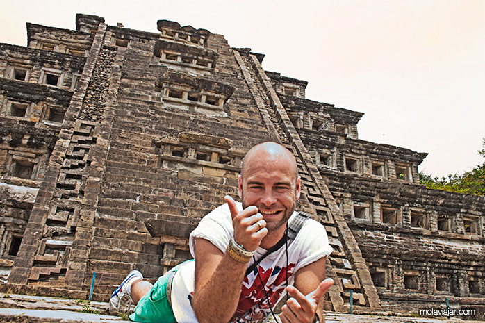 adri y gosi Pirámide tajín