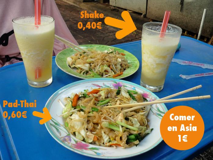 comer en la calle tailandia