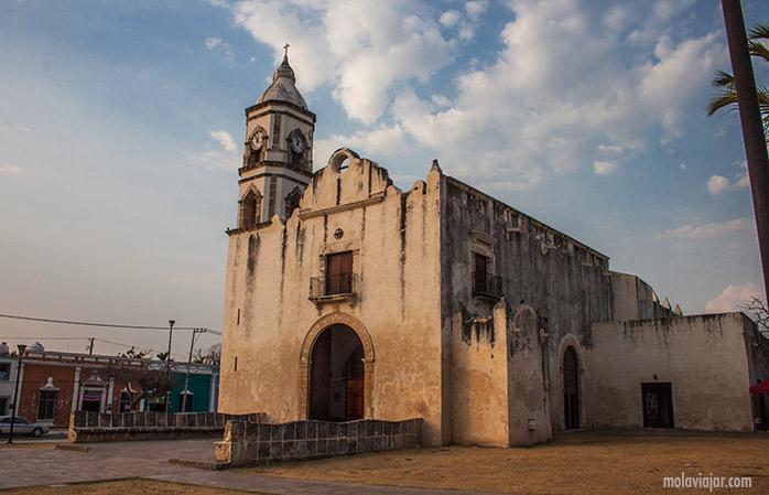 iglesia de SanRoman campeche mexico