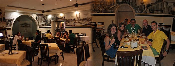 restaurante campeche el bastion