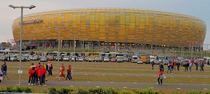 Estadio gdansk
