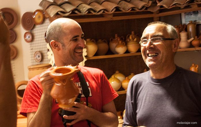 tienda de alfareria galicia molaviajar