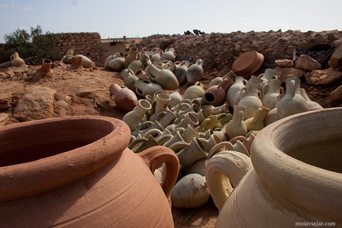 Alfareria en Tunez molaviajar