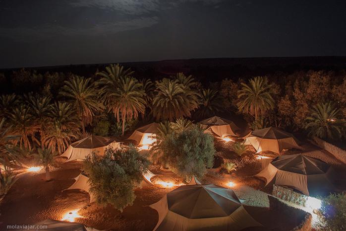 dormir desierto tunez