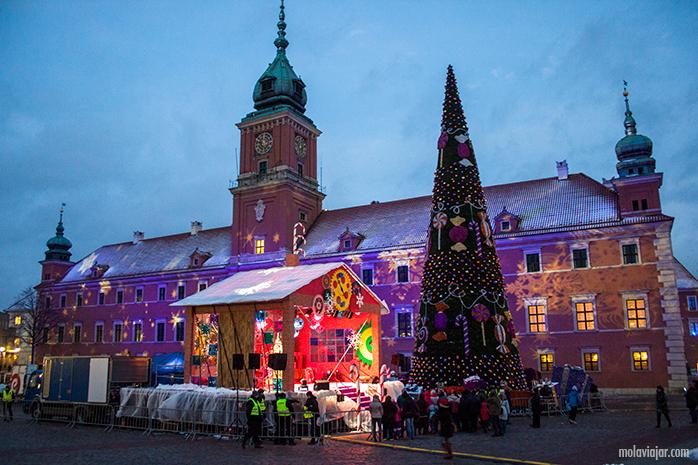 zona viaje varsovia iluminada. Qué ver en Varsovia en un día