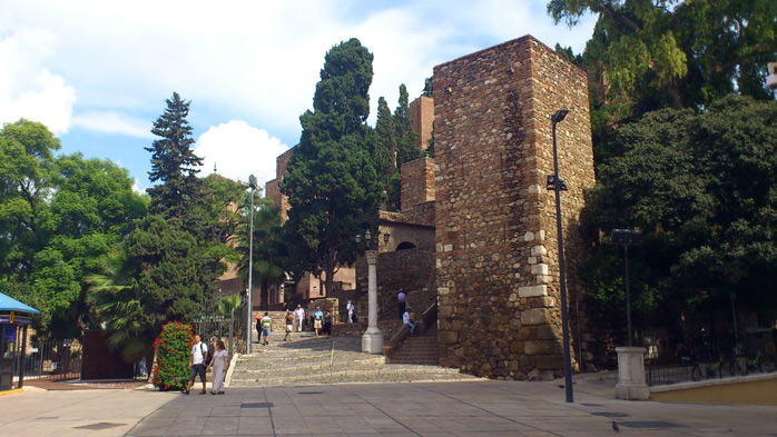 ver Alcazaba-de-Málaga