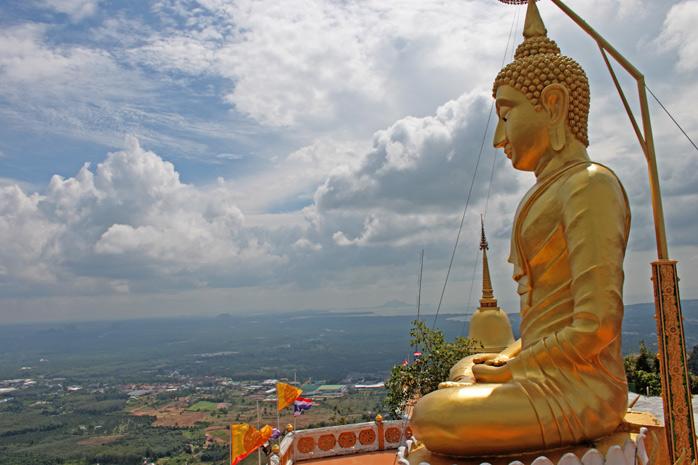 vistas desde tiger temple