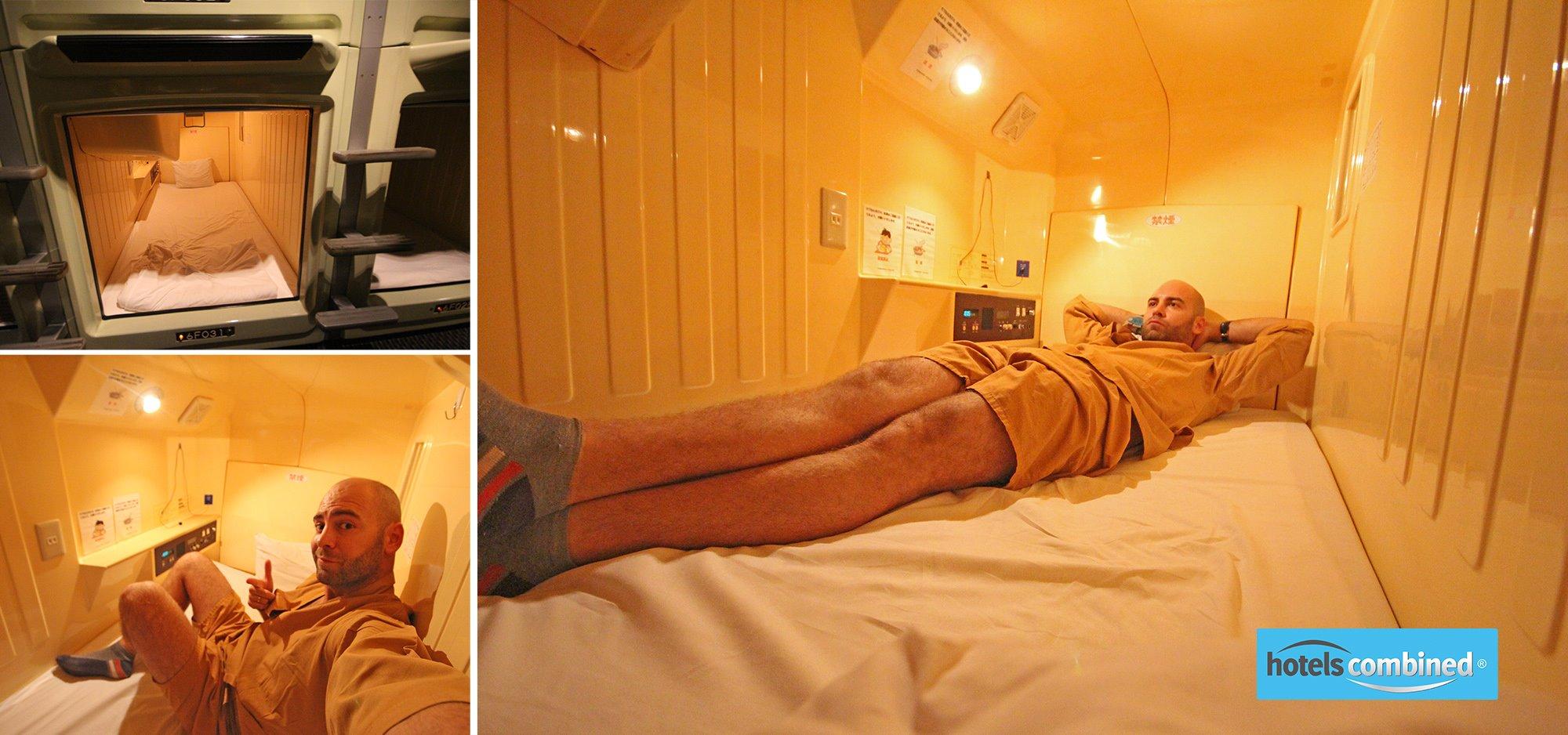 hotel cápsula japon