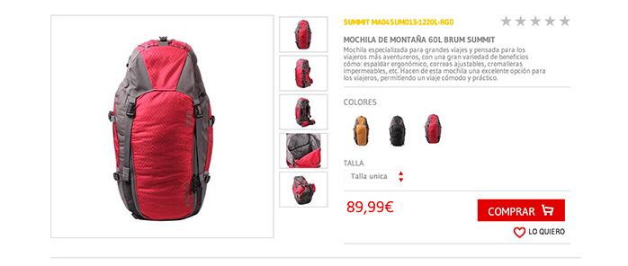OFERTA : 10% Descuento maletas y mochilas Totto España