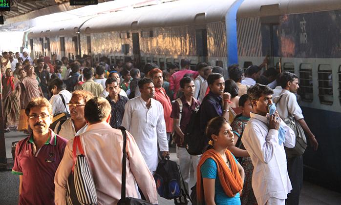 India Consejos para viajar tren en india