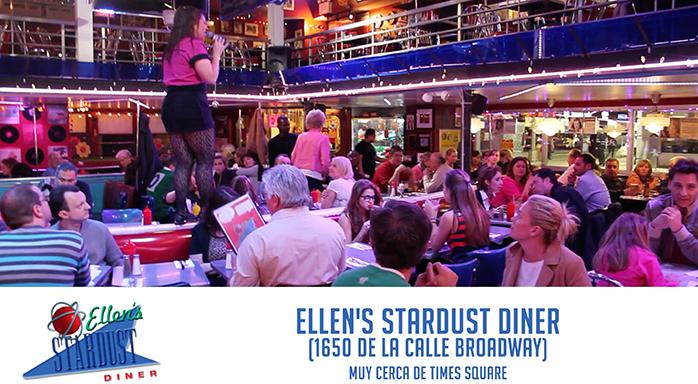 Ellens-Stardust-Diner-_-Home-of-the-Singing-Waitstaff. Comer barato en Nueva York