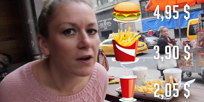 comer en nueva york. Comer barato en Nueva York