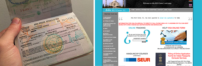 India Consejos para viajar visado india madrid