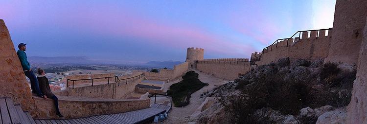 castalla castillo panoramica