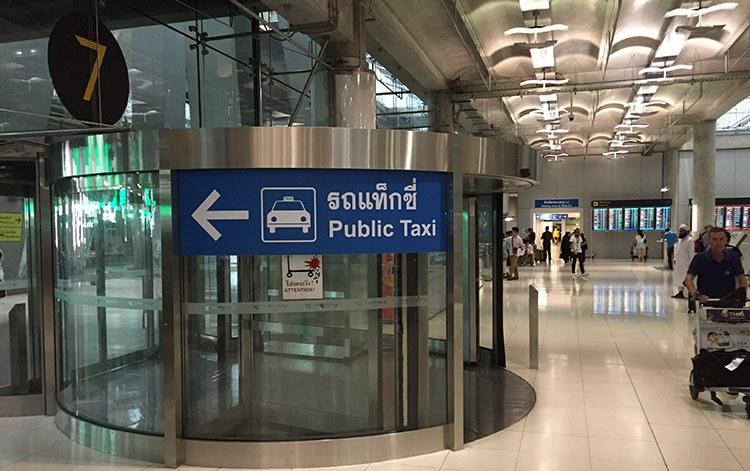 precio taxi aeropuerto bangkok