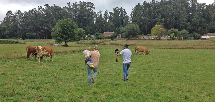 grabando turismo rural en galicia