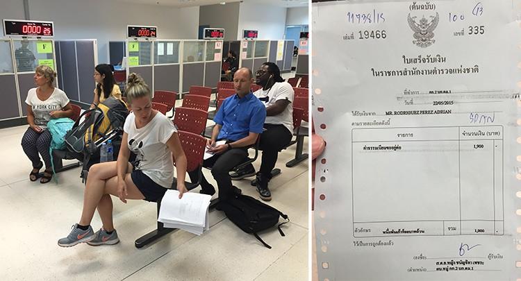 Cómo hacer la extensión del visado de Tailandia en Bangkok