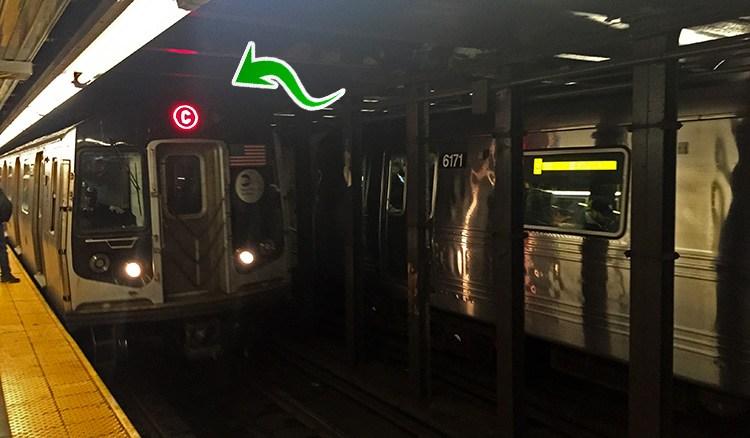 letras metro nueva york