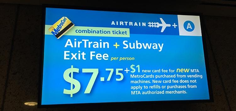 precio bajar aeropuerto JFK. Cómo ir desde el Aeropuerto JFK a Manhattan Nueva York