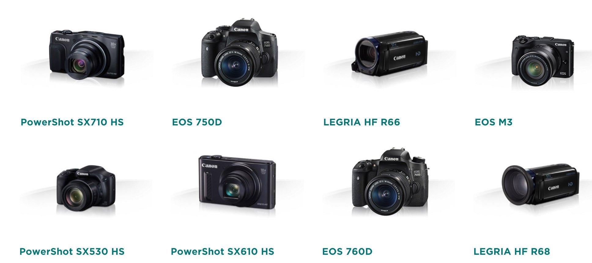 productos canon compatibles CS100
