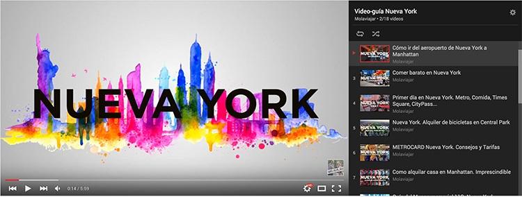 video guia nueva york