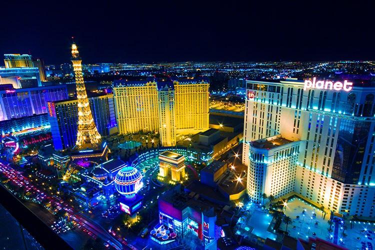 Las Vegas desde las alturas. Costa oeste EEUU. Ruta 16 días. Guía y presupuesto