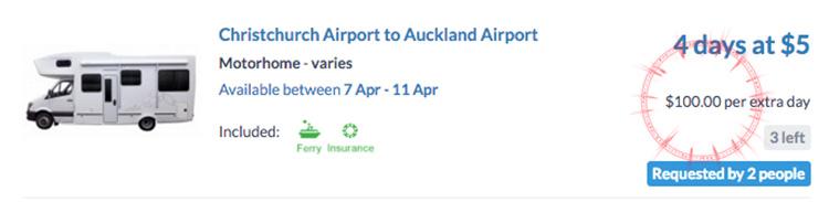 NZ autocaravana gratis