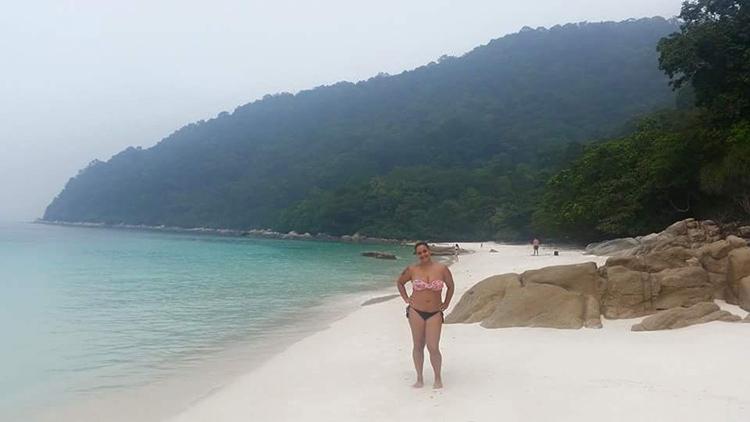 Turttle Beach, pulau Perhentian Besar, en Malasia