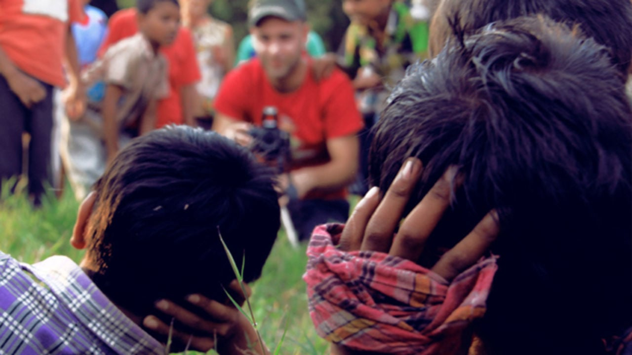 Proyecto solidario, internado en India