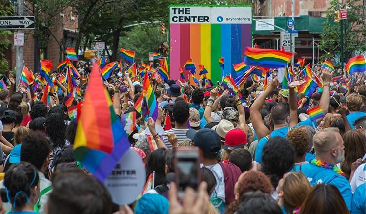 Celebración anual del Orgullo Gay 2016 en Nueva York