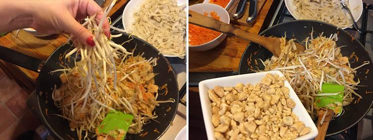 Cómo preparar el Pad Thai Tailandés