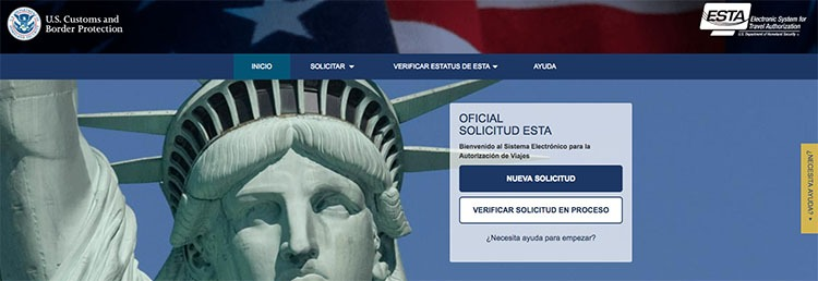 """Cómo sacar el visado """"ESTA"""" para entrar en Estados Unidos"""